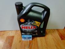 Масло моторное синтетическое 5W-40 Shell HELIX ULTRA 4L