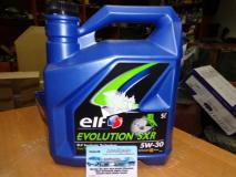Масло моторное синтетика ELF EVOLUTION SXR 5W30 5л
