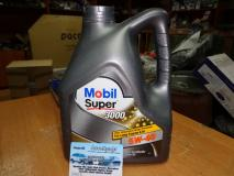 Масло моторное синтетика Mobil Super 3000 5W40 4л