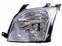 Фара левая электрическая с белым указателем  FORD FUSION 2003-