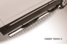 Пороги d76 с проступями Chery Tiggo 5 CT5-005
