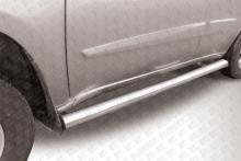 Пороги d76 труба Chery Tiggo FL, Vortex Tingo FL CT-FL-005