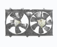 Диффузор радиатора+вентилятор+мотор MITSUBISHI LANCER 2004-  MR968365