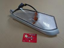 Указатель поворотов передний правый серебро Hafei Brio AB37150020