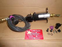 Клапан остановки двигателя WD615 612600180142