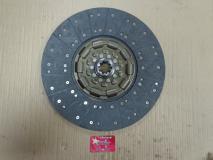 Диск сцепления ведомый в сборе  d 430 mm, перв. вал 45 мм. (9-ступ КПП), HOWO Euro2  C3968254