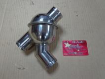 Термостат в корпусе ОРИГИНАЛ 80С  WD615 SHAANXI / Beifan benchi  614060135