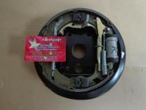 Тормоз задний в сборе с щитком правый (MANDO) Hafei Brio AB35020002W
