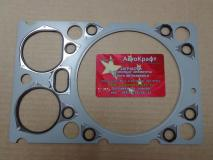 Прокладка головки блока металлическая (прорезиненная) Shacman WP10 WD615 NEW 61500040049