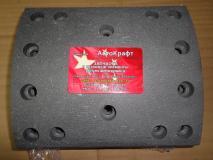 Накладка тормозная задняя для среднего и заднего моста HOWO 14 отверстий  ЕВРО- 4 Howo ( С 2011 Г.В), HOWO A7 AZ9231342018