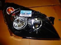 Фара правая под корректор черная Opel Astra H- 2004- 1216562