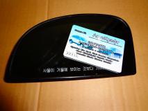 Зеркальный элемент левый (без подогрева электрический)Hyundai Getz 87611-1С820
