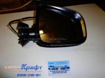 Зеркало правое электрическое с подогревом большое Renault Sandero 6001549681