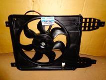 Вентилятор радиатора в сборе главный Заз Vida