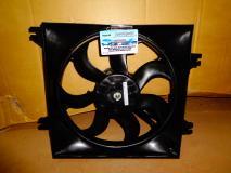 Диффузор радиатора+вентилятор+мотор основной Hyundai Accent