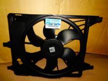 Вентилятор охлаждения радиатора Renault Logan (c кондиционером) до 2008 года 6001550769