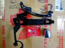 Ручка двери наружная задней левой (хром) Lifan X60 S6205300A2