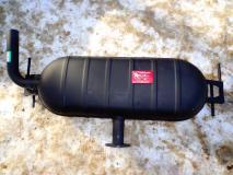 Глушитель задняя часть (бочка) Lifan X60 S1201600