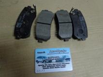 Колодки задние дисковые Kia Rio III - Sangsin 58302-1HA00  583021GA00