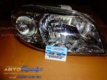 Фара правая под корректор Chevrolet Aveo 06- 96650522