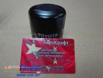 Фильтр масляный Geely MK CROSS (оригинал Toyota) Toyota