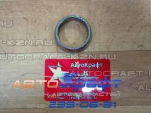 Кольцо соеденительное глушителя Hafei Brio AB12000002