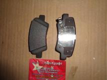 Колодка тормозная заднего левого колеса (комплект) Changan CS35 S101063-0400