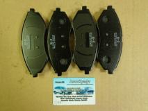 Колодки передние Chevrolet Aveo (производитель) SANGSIN 96534653