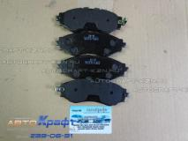 Колодки передние Chevrolet Spark 96273708 96288629