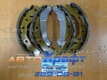 Колодки задние барабанные Chevrolet Spark 96268686