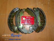 Колодки задние Chery Bonus - ТАЙВАНЬ A11-3502170 A11-3502170
