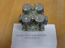 Кран тормозной четырехканальный BAW1065 ЕВРО-3 BP10653560014