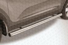 Пороги d76 труба Kia Sportage New KSP010-009