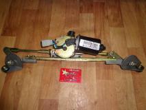 Мотор стеклоочистителя в сборе с трапецией Geely MK 1017002049