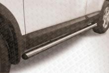 Пороги d76 труба Nissan QASHQAI +2 (2011) NIQ211-006