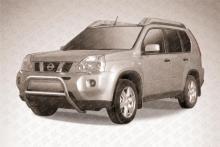 Кенгурятник низкий d57 Nissan X-TRAIL (2007) NXT003