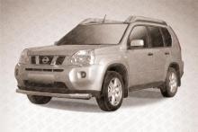 Защита переднего бампера d76 Nissan X-TRAIL (2007) NXT004