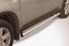 Пороги d76 труба Nissan X-TRAIL (2007) NXT007