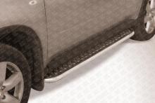 Пороги d42 с листом Nissan X-TRAIL (2007) NXT009