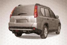 Защита заднего бампера d57 Nissan X-TRAIL (2007) NXT011