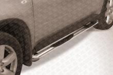 Пороги d76 с проступями со скосами Nissan X-TRAIL (2007) NXT014