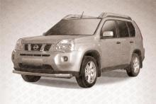 Защита переднего бампера d76 Nissan X- Trail (2011) NXT11-002
