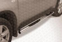 Пороги d76 с проступями Nissan X- Trail (2011) NXT11-005