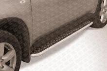 Пороги d42 с листом Nissan X- Trail (2011) NXT11-008