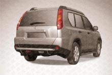 Защита заднего бампера d57 Nissan X- Trail (2011) NXT11-009