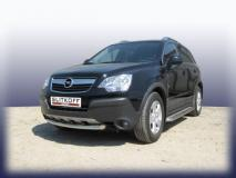 Защита переднего бампера d57 Opel Antara OPAN005