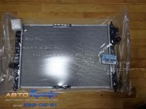 Радиатор охлаждения CHEVROLET AVEO 04-08 1,2/1.4 16v (автомат)  96817345 96536526