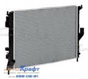Радиатор охлаждения с кондиционером с 2008 г RENAULT DUSTER 8200735039