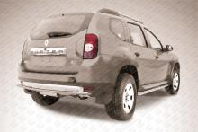 Защита заднего бампера d42 Renault Duster RD010