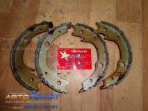 Колодки стояночного тормоза BYD F3, F3R  17.03.2400F3013-01